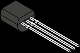 Transistor 1N2222, NPN