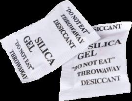 Silica gel (desiccant), 1g