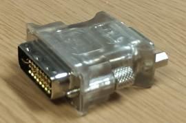Adapter DVI till VGA