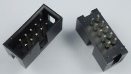 IDC hane, 2x5 pin, 2.54mm PCB