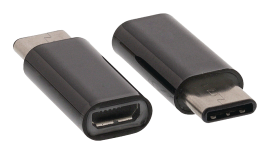 Adapter, microUSB / USB-C