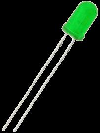 LED 5mm grön
