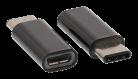 Adapter, microUSB / USB-C