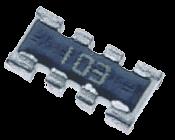 Motståndsnät 10kohm 0.25W SMD 1206