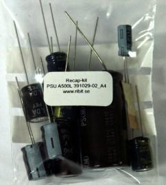 Recap-kit PSU A500 Light 391029-02_A04